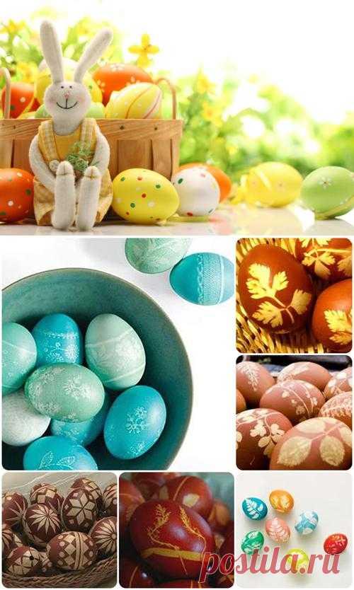 Как украсить пасхальные яйца | Лайфхакер