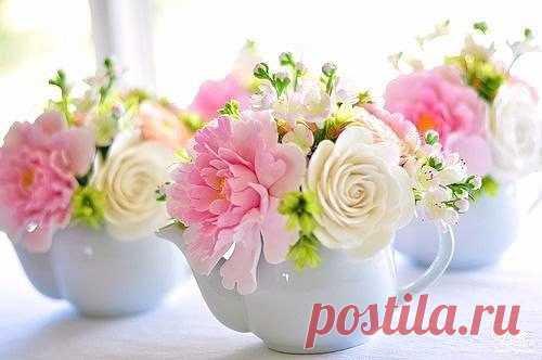 Доброе утро💐 и каждый цветочек внутри пусть пробуждается  💐
