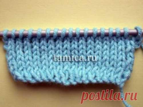 Частичное вязание: укороченные ряды.
