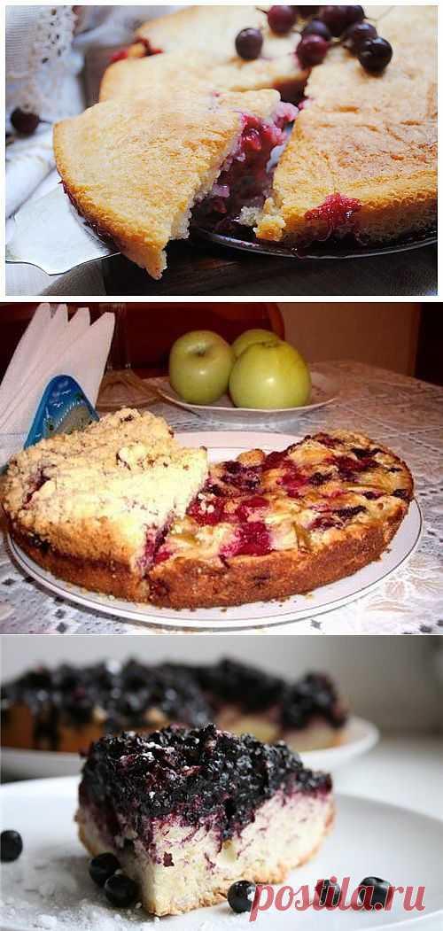 Шарлотка – летние варианты начинки знаменитого пирога / Простые рецепты
