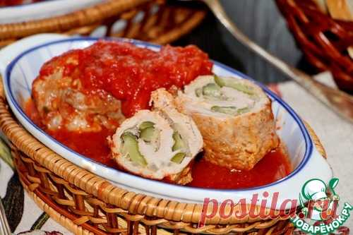 Свиные крученики в томатном соусе – кулинарный рецепт