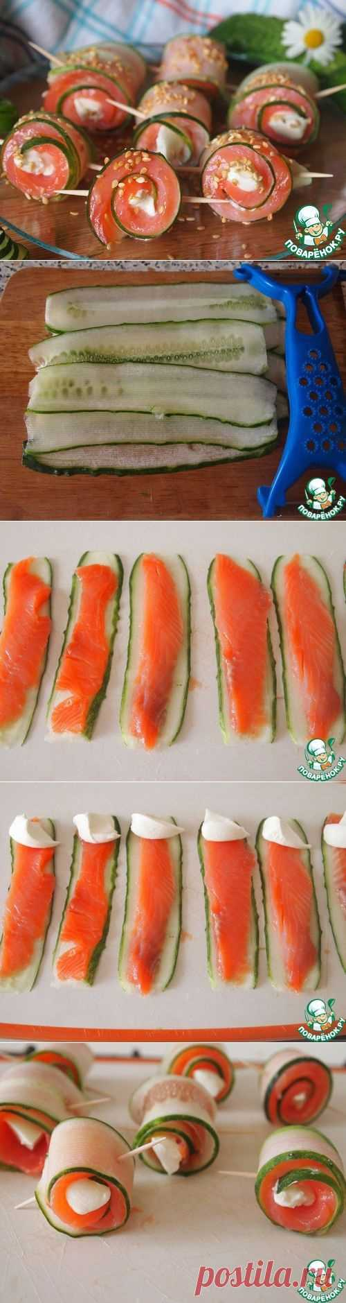 Суши без риса DIY