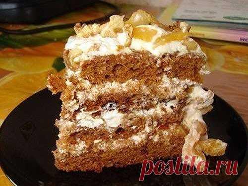 Торт «Трухлявый пень» — Простые советы