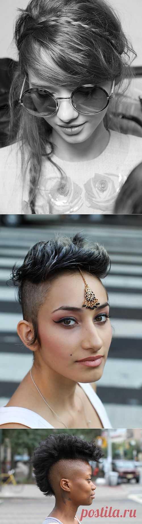 Интересные косы и креативные стрижки / Прически / Модный сайт о стильной переделке одежды и интерьера