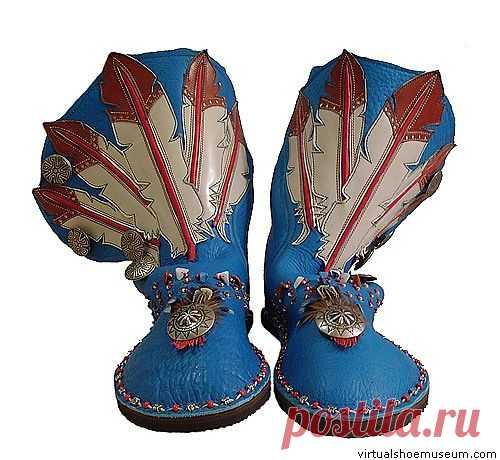 Настоящему индейцу / Обувь / Модный сайт о стильной переделке одежды и интерьера