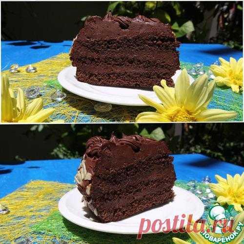 Шоколадный торт от Martha Stewart - кулинарный рецепт