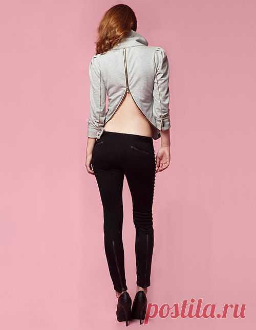 Спинка на молнии / Худи / Модный сайт о стильной переделке одежды и интерьера