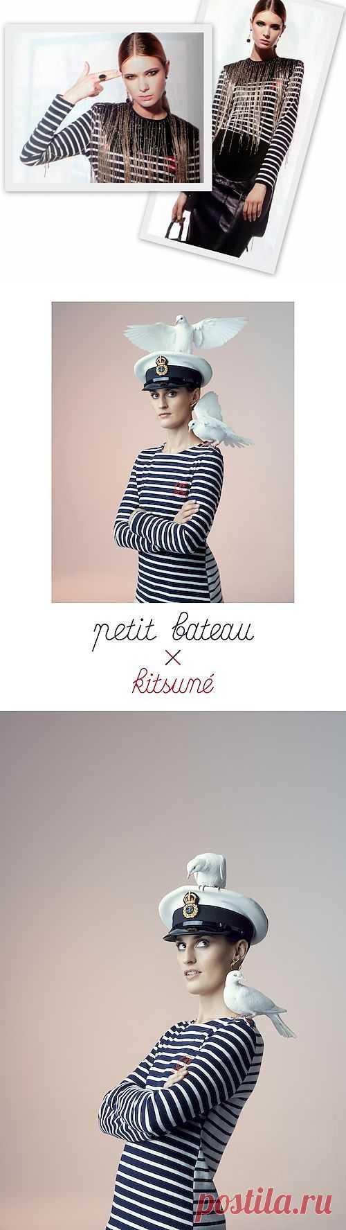 Две тельняшки Petit Bateau / Тельняшки / Модный сайт о стильной переделке одежды и интерьера