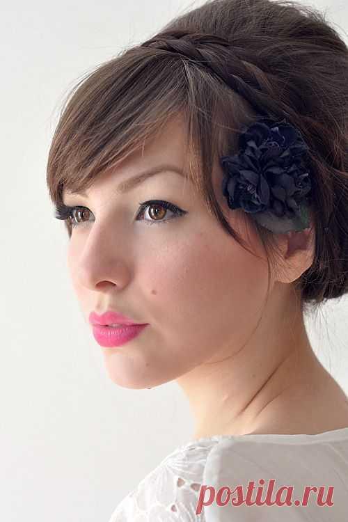 Ретро-прическа (мастер-класс) / Прически / Модный сайт о стильной переделке одежды и интерьера