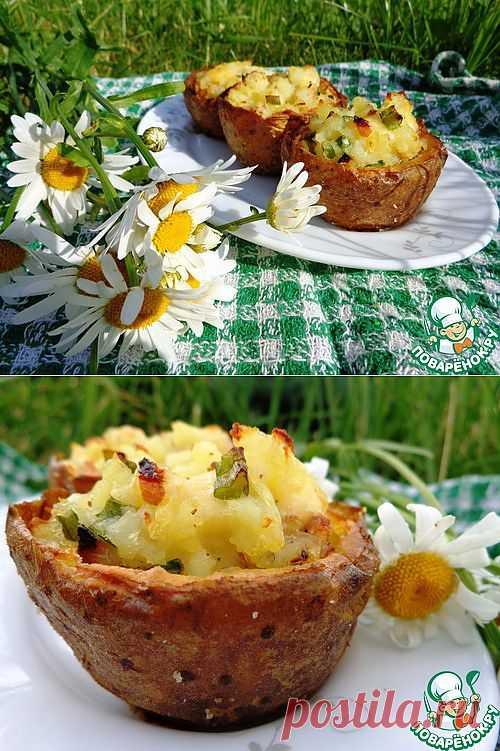 Картофельные корзиночки - кулинарный рецепт