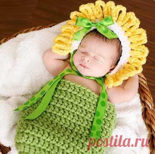 Вязание для новорожденных: 12 красивых идей