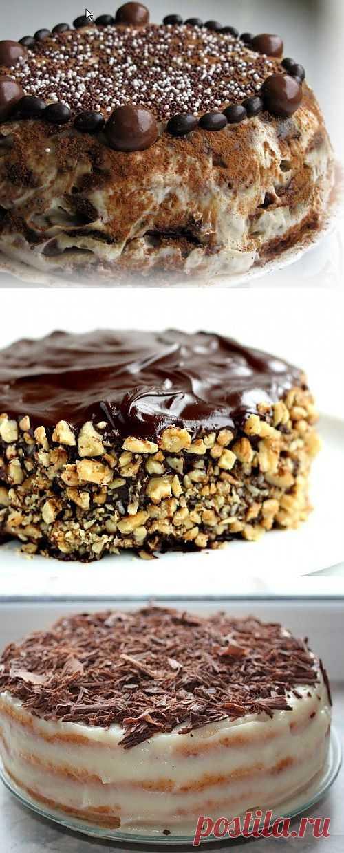 Даже торт может быть быстрым: 7 рецептов торта на скорую руку! / Простые рецепты