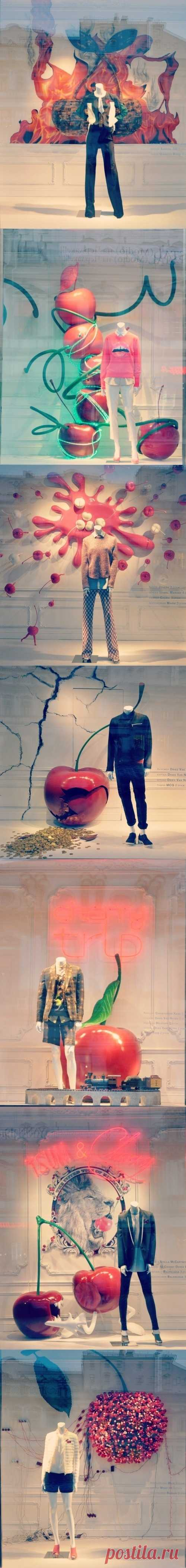 Spring show-windows of Central Department Store