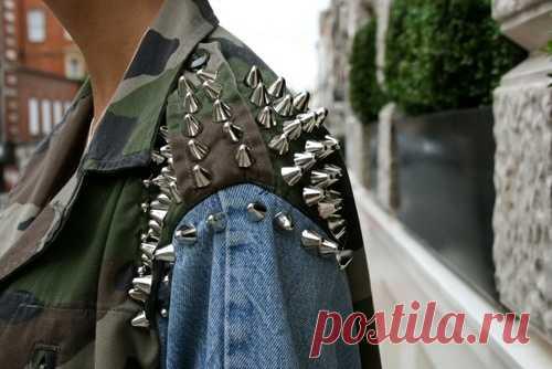 Апгрейд куртки / Курточные переделки / Модный сайт о стильной переделке одежды и интерьера