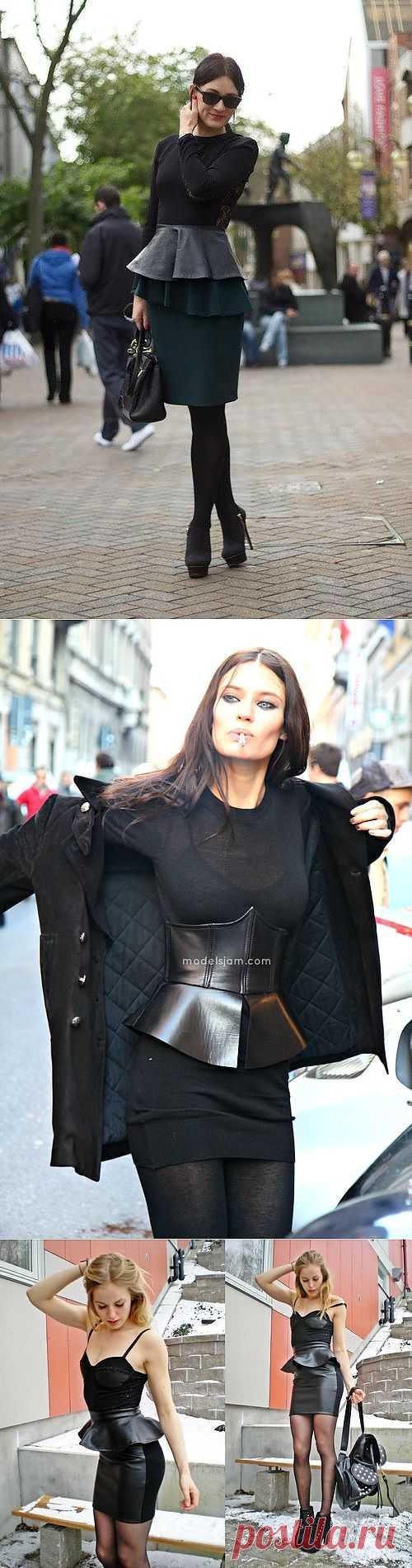 И снова баски / Детали / Модный сайт о стильной переделке одежды и интерьера