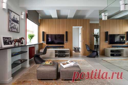 10 малогабаритных квартир с яркими дизайн-идеями . Милая Я