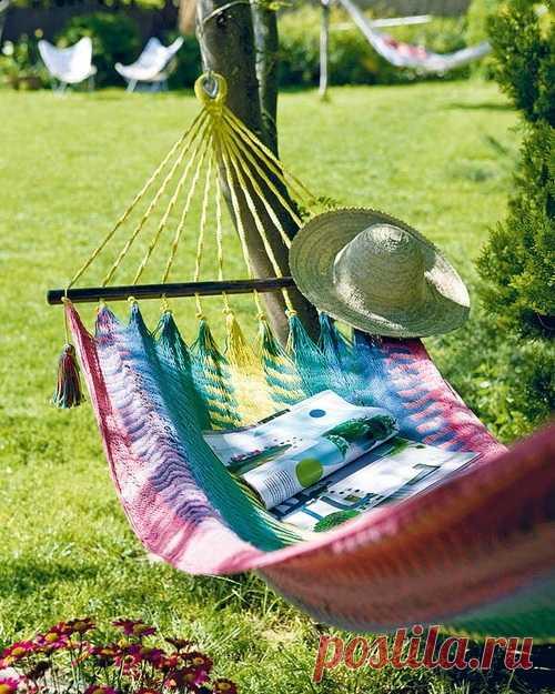 Rest in a garden