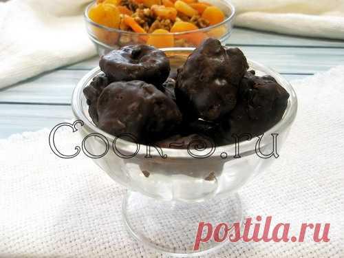 Конфеты из кураги - Пошаговый рецепт с фото | Десерты