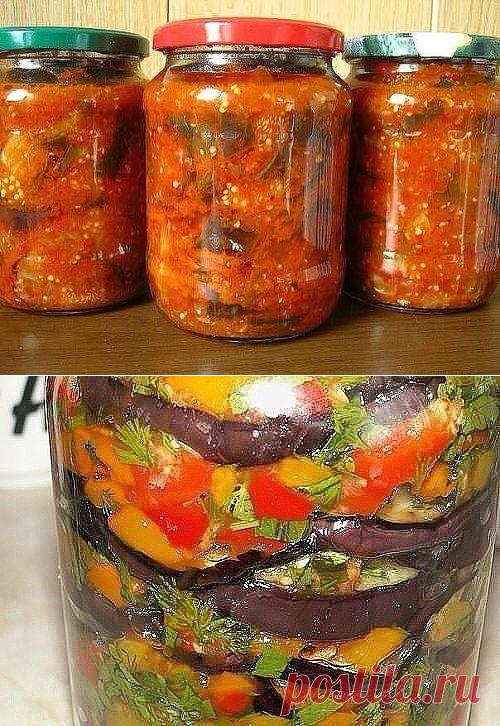 Овощные салаты на зиму