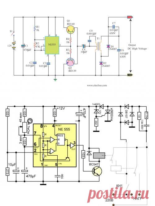 Генератор электрических импульсов на таймере 555 | класс робототехники.