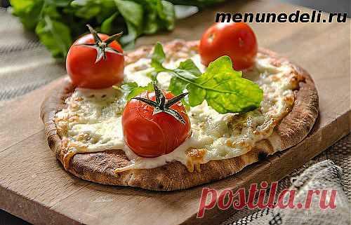 Вкусное тесто для пиццы / Меню недели