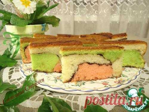 Малазийский красочный торт.