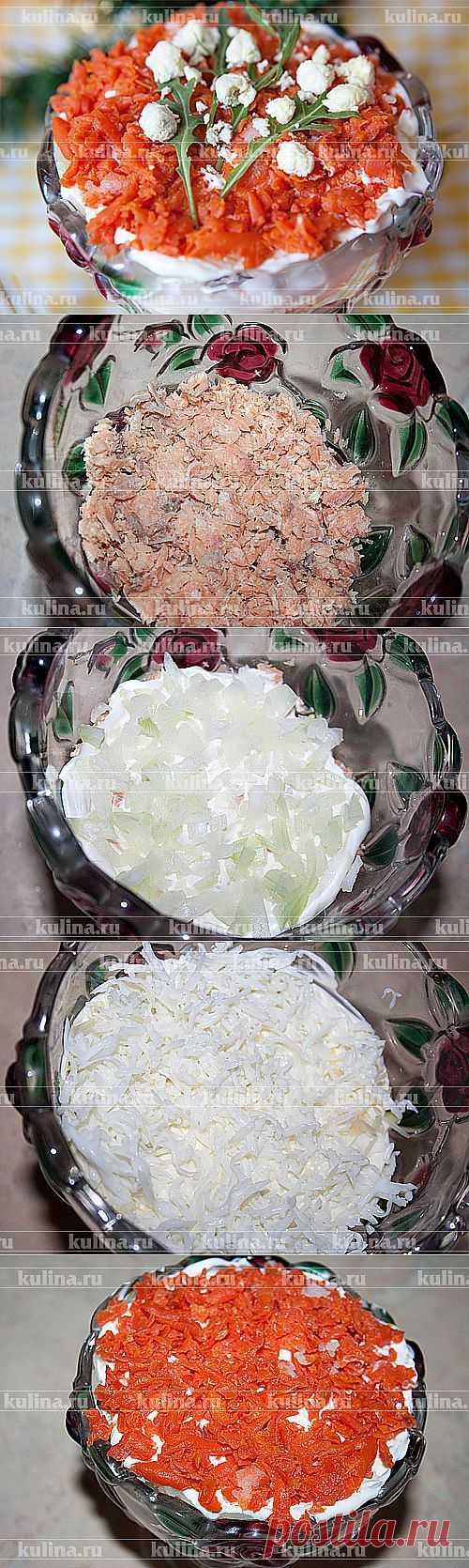 Салат «Мимоза» – рецепт приготовления с фото от Kulina.Ru