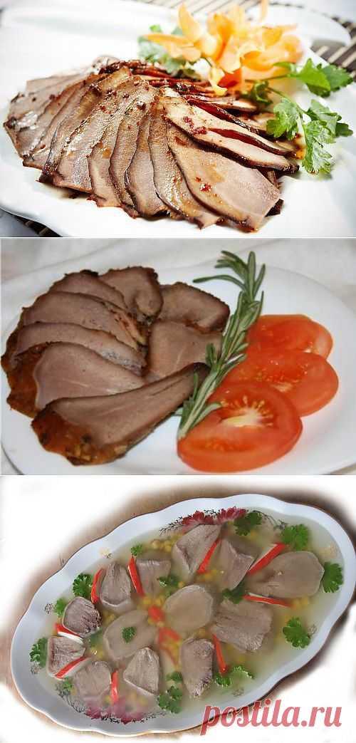 Вкусный и легкий свиной язык / Простые рецепты