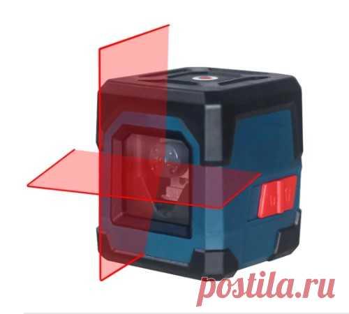 HANMATEK LV1 лазерный уровень с поперечным лазером с измерительным диапазоном 10 метров, самонивелирующаяся вертикальная и горизонтальная линия