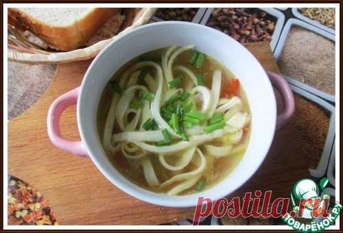 Крахмальная лапша диетическая - кулинарный рецепт