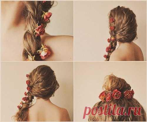 Идея свадебной прически / Прически / Модный сайт о стильной переделке одежды и интерьера