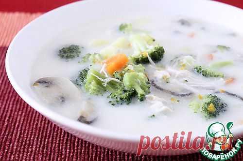 Сливочный суп с курицей и овощами. Автор: Lina_Bayreuth