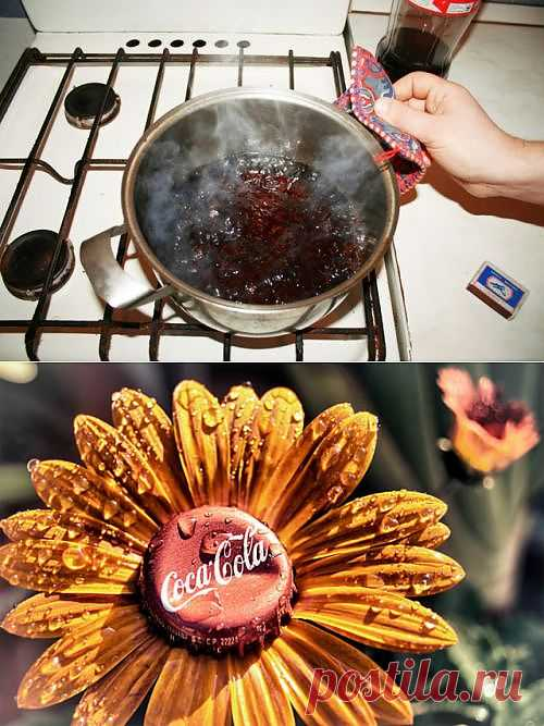 Как использовать Coca-Cola в хозяйстве.