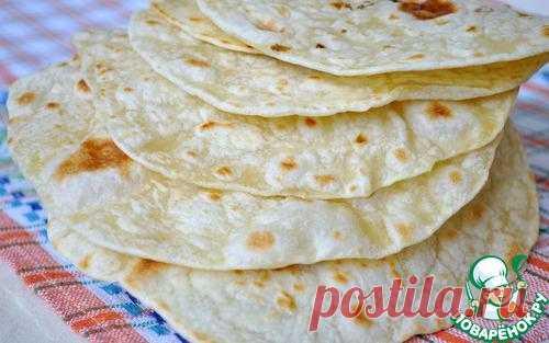 Традиционная мексиканская лепешка – тортилья – основа национальной кухни
