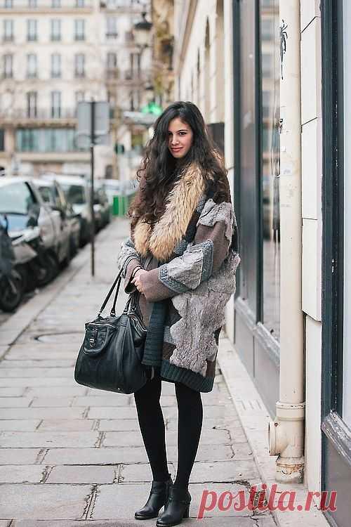 Шикарная шубка! / Пэчворк / Модный сайт о стильной переделке одежды и интерьера