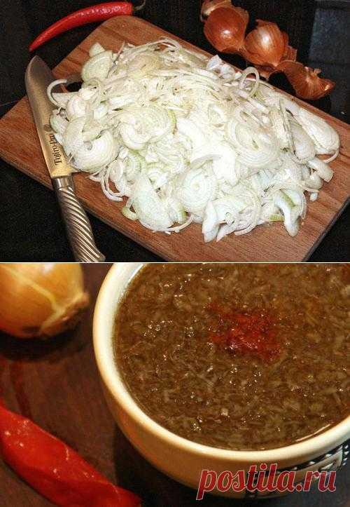 Uzbek onions soup