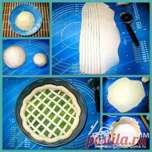 Изумрудный творожный пирог - пошаговый рецепт с фото на Готовим дома