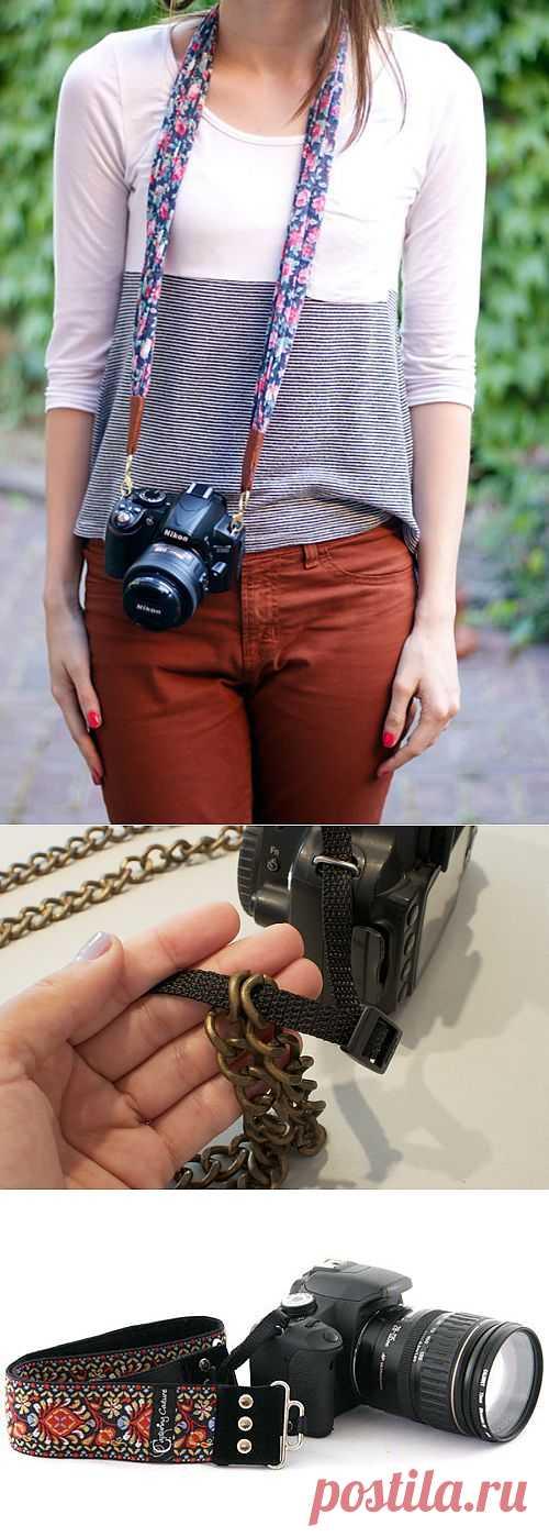 Ремни для фотокамеры (подборка Diy) / Гаджеты / Модный сайт о стильной переделке одежды и интерьера