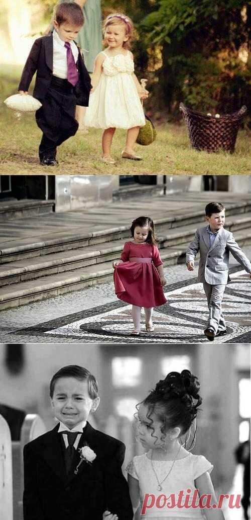 Брать ли детей на свадьбу? 2 клика по фото – и вы получите ответ