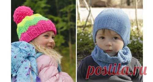 Шапочки для девочек и мальчиков спицами на весну со схемами Какую шапку связать ребенку на весну? Для вас 7 моделей вязаных детских шапочек с подробными описаниями вязания на спицах.