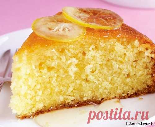Original recipes of pastries with a lemon - it is inexpressibly fragrant!