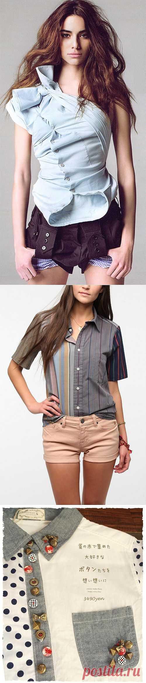 Блузки с интересными деталями (подборка) / Блузки / Модный сайт о стильной переделке одежды и интерьера