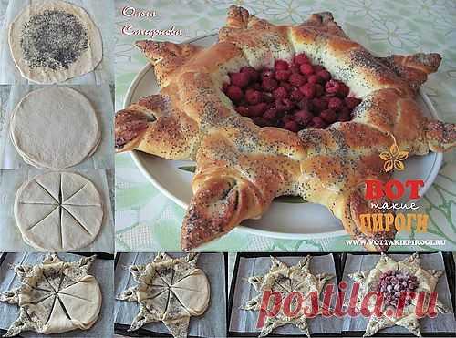 Украшение пирогов и разделка теста