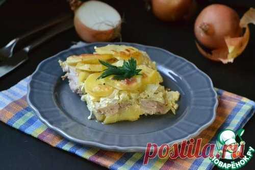 Картофельная запеканка с курицей – кулинарный рецепт