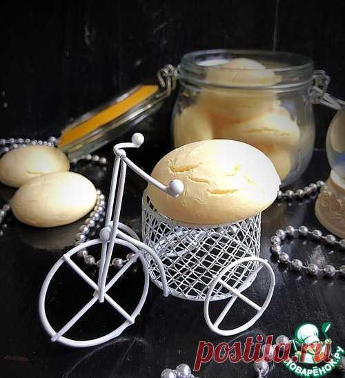 Ванильное печенье «Снежное» – кулинарный рецепт
