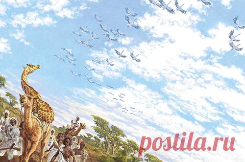 Поэтичная и поучительная история жирафы-путешественницы от всемирно известного сказочника
