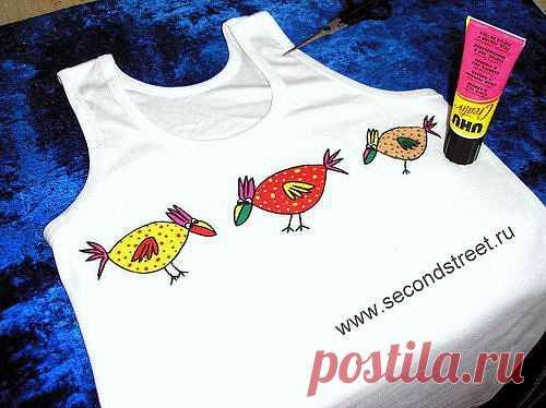 «Очумелые курицы» / Аппликации / Модный сайт о стильной переделке одежды и интерьера