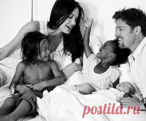 Большая дружная семья Джолли-Питт
