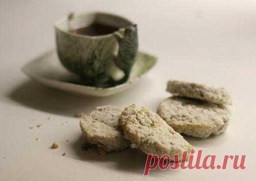 Чадейка - Ореховое печенье с ванильной обсыпкой