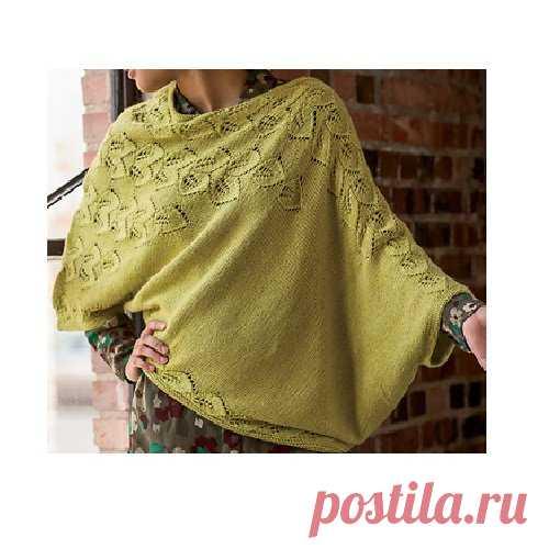 Пуловер-наволочка BOTANIC | Просто вязание | Яндекс Дзен